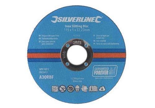 Silverline Inox-snijschijven, 10 pk