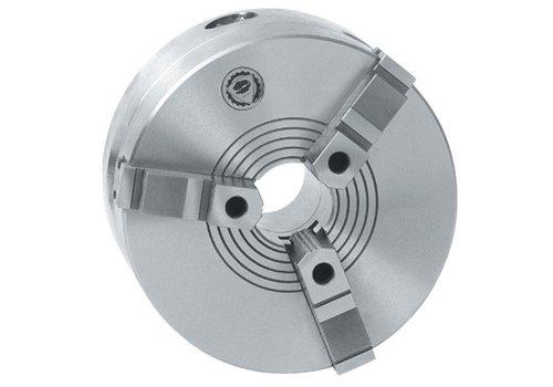 Bison Zelfcentrerende Drie-Klauwplaat, staal, type 3404, DIN 6350 Artikelgroep 85.450