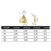Wisselplaat WCMX Artikelgroep 75.500