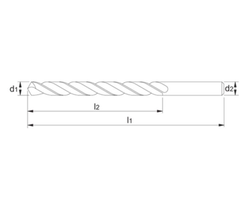 Tools ECO HSS Spiraalboor Artikelgroep 11.426