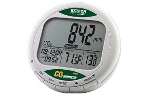 Extech CO200 tafelmodel luchtkwaliteits CO2 meter