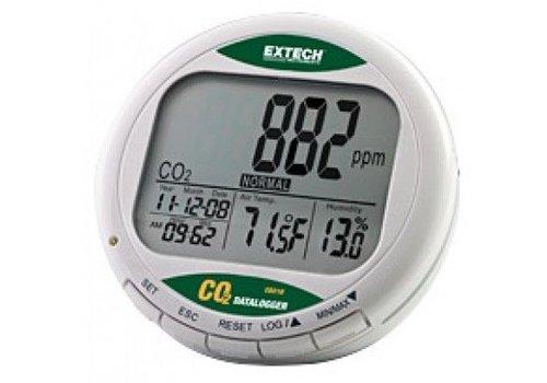 Extech CO210 tafelmodel luchtkwaliteits CO2 meter met datalogging
