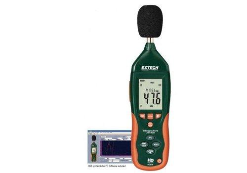 Extech HD600 geluidsmeter / datalogger