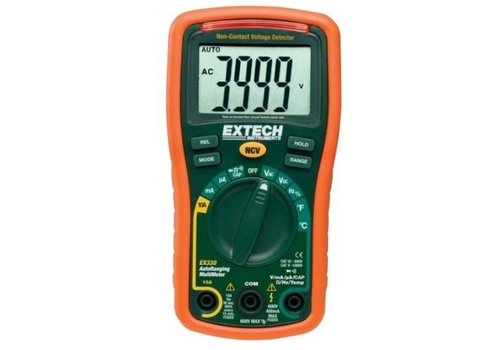 Extech EX330 Pocket Digitale Multimeter + Spannings Detector