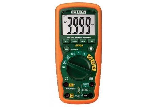 Extech EX520 Industriële True RMS Multimeter + Waterdichte Behuizing