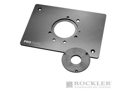 Rockler Aluminium pro-freesplaat voor freesmachines (niet Triton)