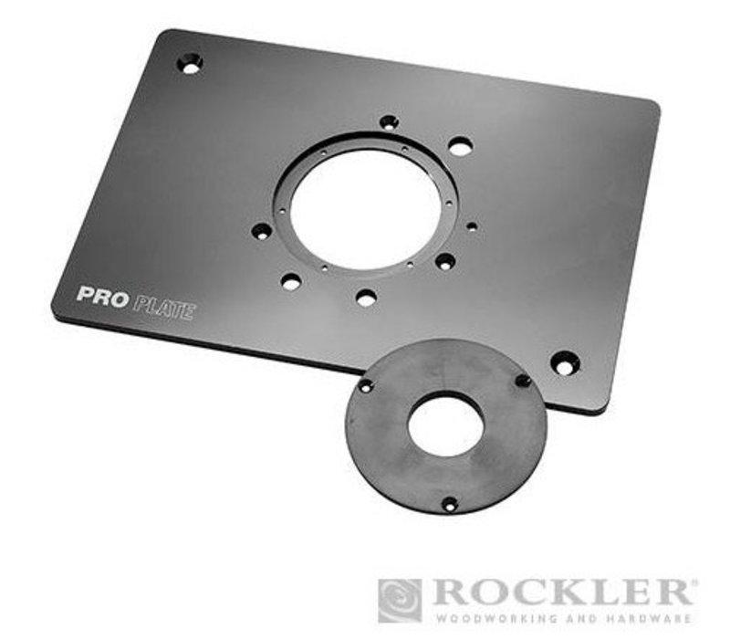 Aluminium pro-freesplaat voor freesmachines (niet Triton)