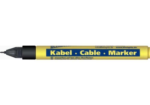 Kabel marker 0,75mm zwart