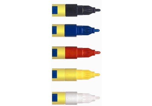 Industrie verf marker fijn 1-2mm
