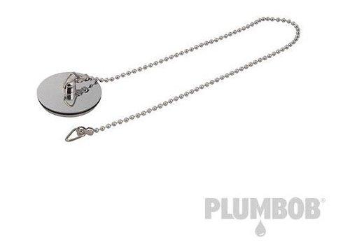 """Silverline Chroom afvoerplug & ketting 1 1/2"""""""