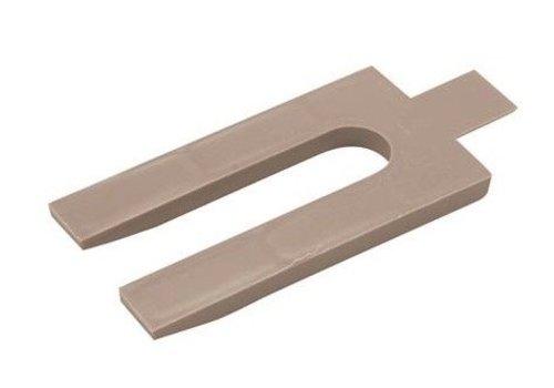 FIXMAN Plastic afstandhouders, 250 pk. 5 mm
