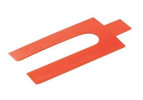 FIXMAN Plastic afstandhouders, 250 pk. 1 mm