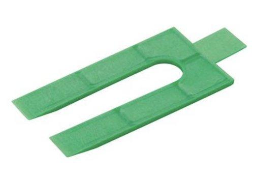 FIXMAN Plastic afstandhouders, 250 pk. 2mm
