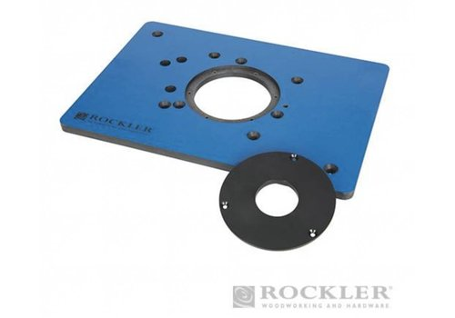 Rockler Fenol freesplaat voor Triton freesmachines 210 x 298 mm