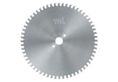 ML-TOOLS HM ZAAGBLAD MET DAKHOL TAND VOOR PLAAT MATERIAAL 250X3,2/2,2x30xZ=48 DH