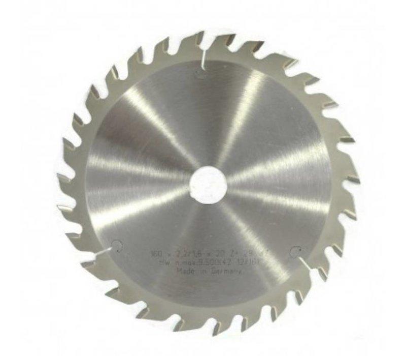 Zaagblad 160x20x48 WT Originele specificatie hardmetaal cirkelzaagblad voor Festo