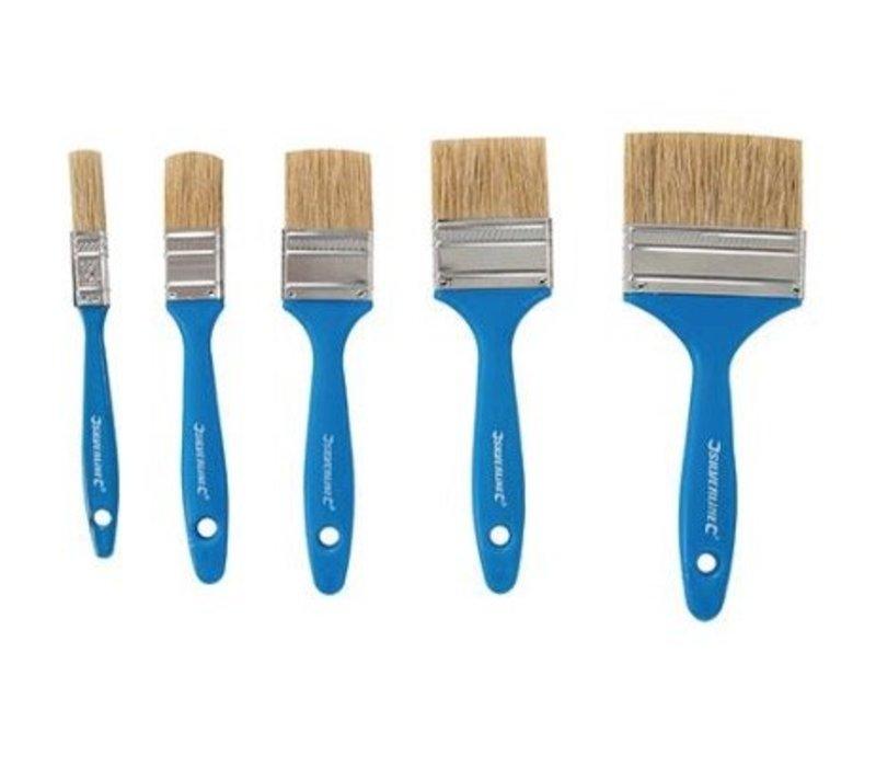 5-delige wegwerp schilderskwasten set