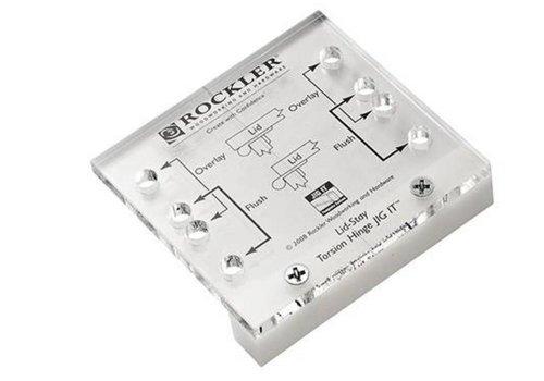 Rockler Torsiescharnier JIG IT® 80 x 78 x 20 mm