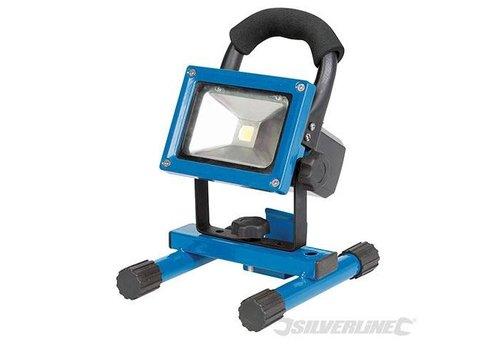 Silverline LED werklamp met USB poort, 10 W