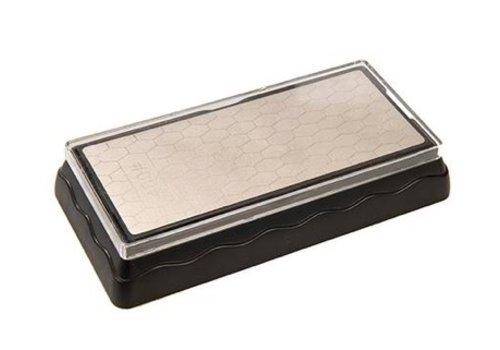 Silverline Dubbelzijdige diamantslijpsteen 400 en 100 korrelmaat