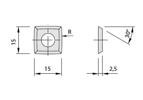 Leut wegwerpmessen in HW - R 50 - R 150
