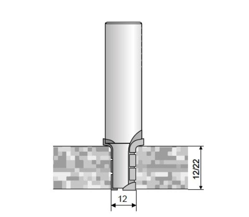 radiusrouterbit voor nesting Art. D260