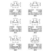 router bit voor aluminium geleiders Art. D295