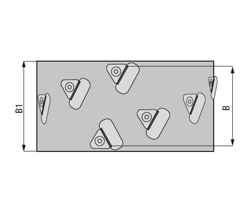 snijkop voor afwerking voor kantenlijmmachine Art. D307