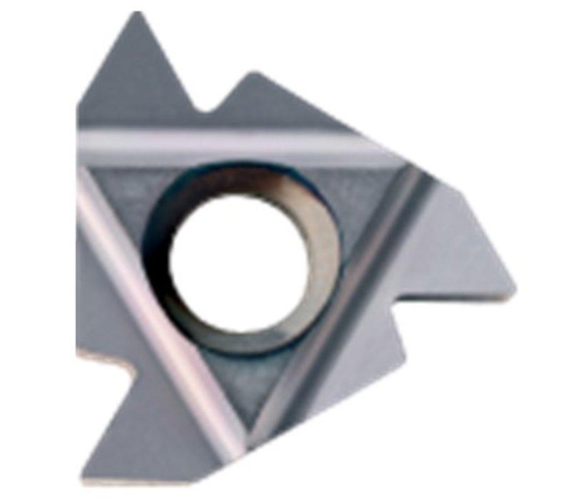 Draadsnijwisselplaat IR, 60°, deelprofiel, inwendig 16IR AG60 HC-P25/M20/K20