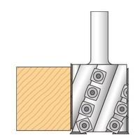 Wisselplaat groeffrees en vlakfrees Art. 296