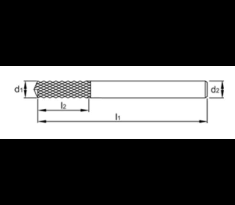 VHM Router met boorpunt Artikelgroep 35.868