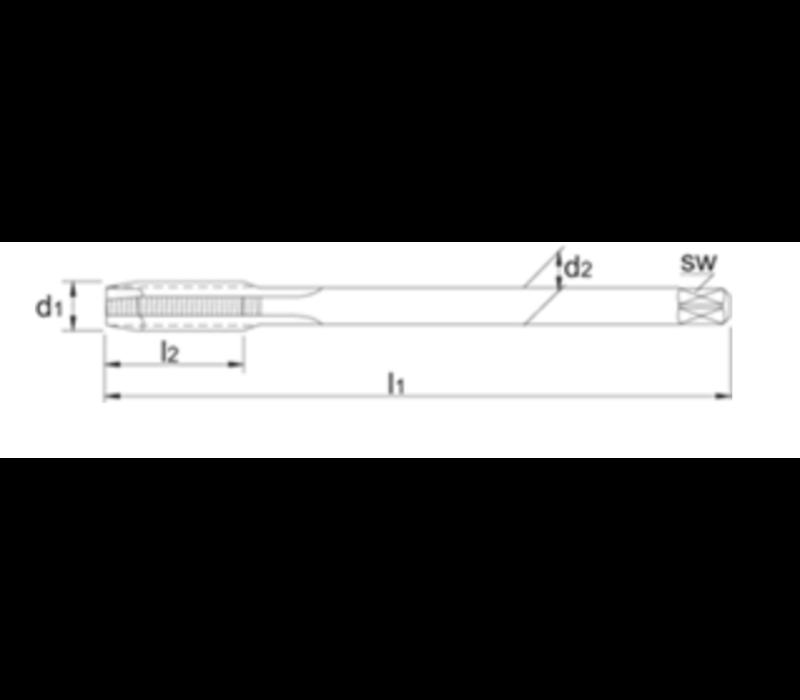 UNI HSS-E Machinetap Metrisch, TiCN Artikelgroep 22.241