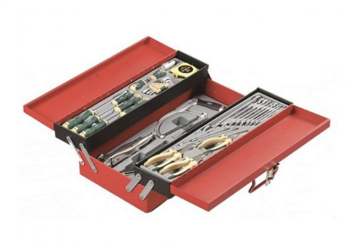 Force 3-Tier tool chest with 48pcs tools