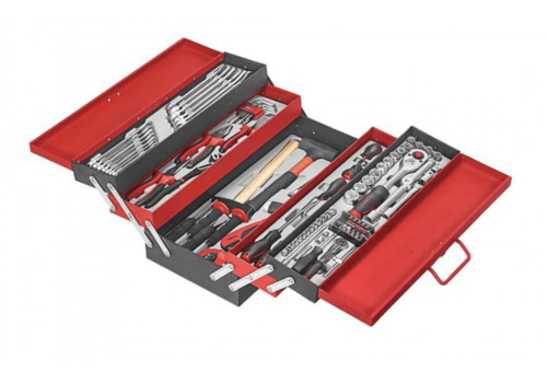 Force 5-Tier Tool chest with 101 pcs of tools