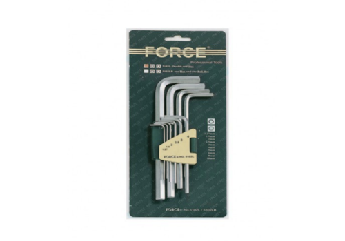 Force 10pc Hex long key