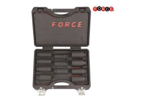 "Force 11pc 3/4""DR. Truch wheel impact socket set (S&M)"