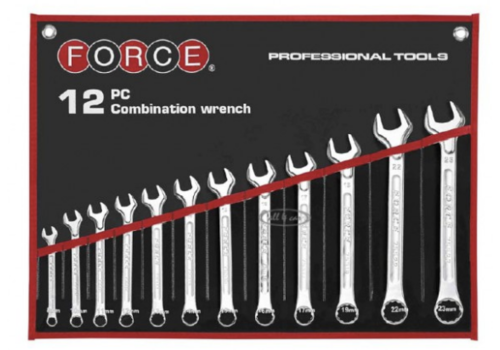 Force 12pc combination wrench(mm)
