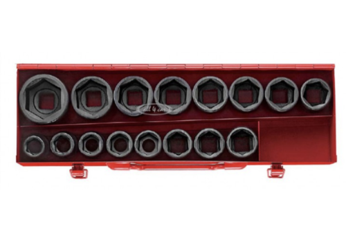 "16pc 3/4""DR. 6pt. Impact socket set (MM)"