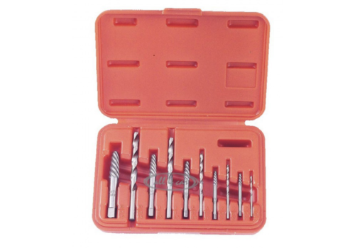 Force 10pc Combination extractor and drill set
