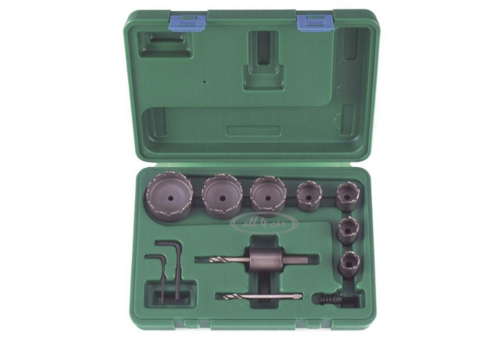 Force 13pc Tungsten carbide tipped metal borer set