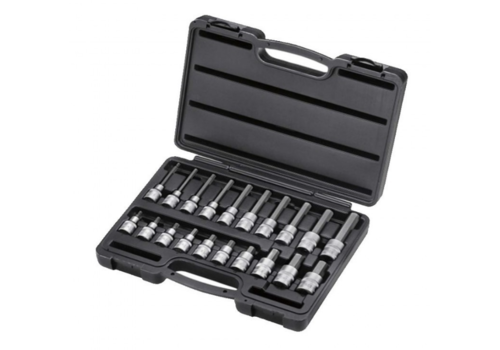 "Force 20pc 1/2"" Hex socket bit set"