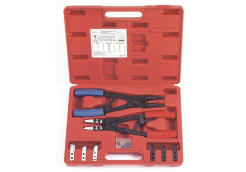 Force 20pc Internal-external circlip pliers set