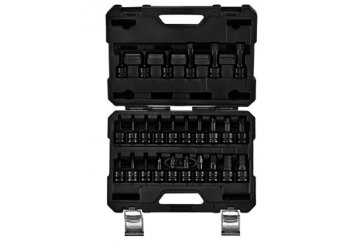 "Force 26pc 1/2""DR. Impact socket set (hex, star, spline)"