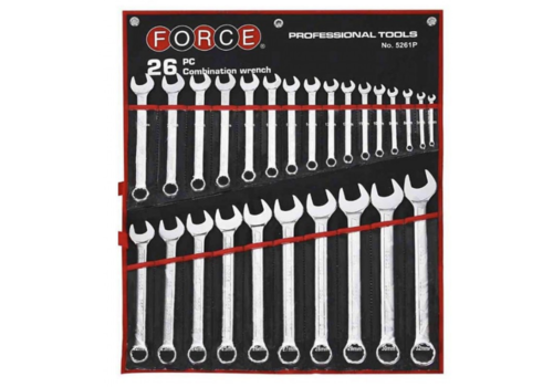 Force 26pc Combination wrench (pounch)