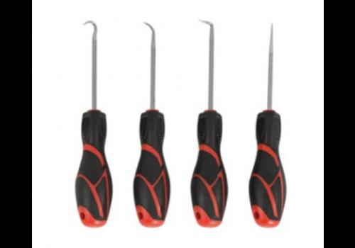 Force 4pc Hook & pick set (blister card)