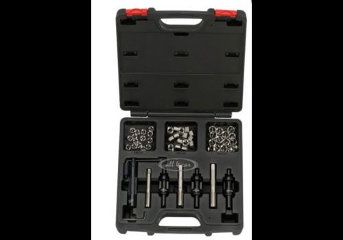 56pc Spark plug rethread kit