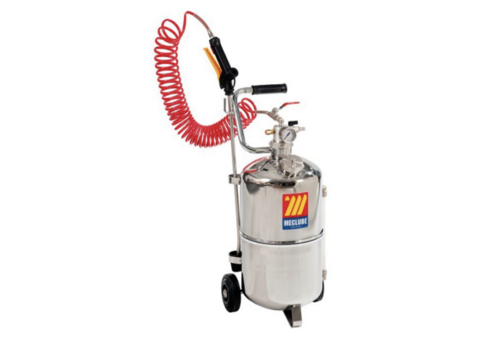 Meclube 24l wheeled stainless steel sprayer