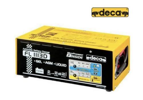 Deca Acculader 11 Amp 6/12/24 Volt
