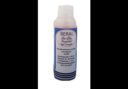 Beral Uni-Glue borgmiddel rood high strength 15ml