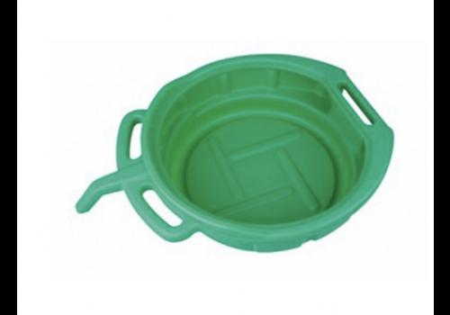 Weber olieopvangbak 15L Groen